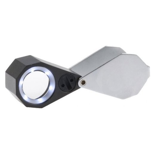 Viewlux A632 lupa 20x21mm (20x) s LED